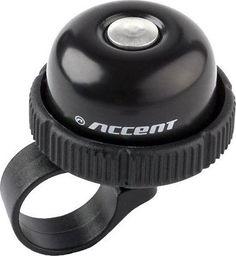 Accent Dzwonek Accent Roll czarny uniwersalny