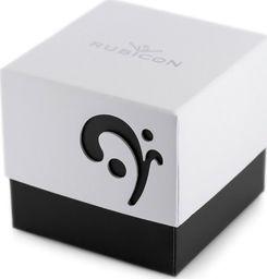 Rubicon Prezentowe pudełko na zegarek - RUBICON - czarne uniwersalny