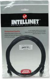 Intellinet Network Solutions Intellinet patch cord RJ45 kat. 6 UTP 5m Czarny 100% miedź (343350)