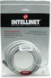 Intellinet Network Solutions Intellinet patch cord RJ45 kat. 6 UTP 5m Biały 100% miedź (343732)