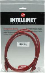 Intellinet Network Solutions Intellinet patch cord RJ45 kat. 6 UTP 2m czerwony 100% miedź (342162)