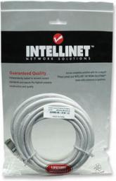Intellinet Network Solutions Intellinet patch cord RJ45 kat. 6 UTP 2m Biały 100% miedź (341967)