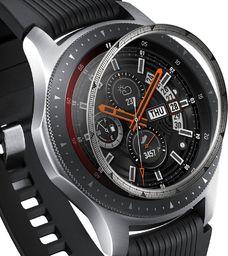 Ringke Ringke Inner Bezel Styling etui ramka koperta pierścień Samsung Galaxy Watch 46mm / Gear S3 srebrny (RGSG0055) uniwersalny