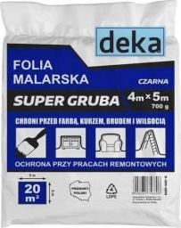 Folia malarska EPM folia malarska super gruba, czarna 4x5m 700G (D-300-0210)