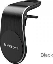 Uchwyt Borofone Borofone - uchwyt samochodowy magnetyczny na kratkę nawiewu, czarny