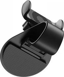 Uchwyt Borofone Borofone - uchwyt samochodowy na kokpit, czarno-szary