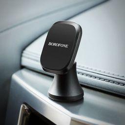 Uchwyt Borofone Borofone - uchwyt samochodowy magnetyczny na kokpit, aluminium