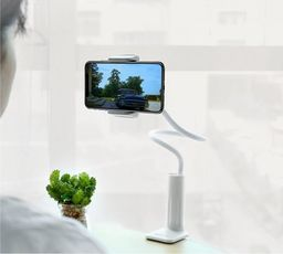Uchwyt Borofone Borofone - uchwyt blatowy do smartfona, biały