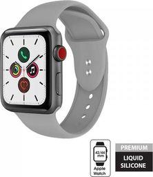 Crong Crong Liquid Band - Pasek Apple Watch 42/44 mm (szary)