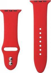 Crong Crong Liquid Band - Pasek Apple Watch 42/44 mm (czerwony)
