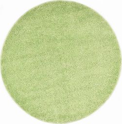 vidaXL Dywanik shaggy, 67 cm, zielony