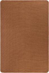 vidaXL Dywan z juty z podkładem z lateksu, 70 x 130 cm, brązowy