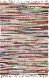 vidaXL Ręcznie tkany dywanik Chindi, bawełna, 80x160 cm, kolorowy