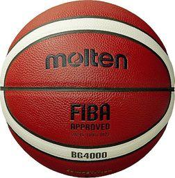 Molten Brązowa piłka do koszykówki Molten B7G4000 rozmiar 7 uniwersalny