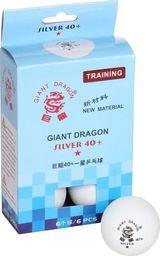Giant Dragon Piłeczki do ping ponga Silver Star* 6 sztuk (8331)