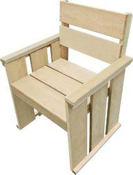 vidaXL krzesło do ogrodu, impregnowane drewno sosnowe FSC, 61x56x89 cm (44909)