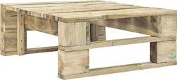 vidaXL stołek ogrodowy z palet, drewno FSC, zielony (44693)