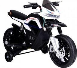 LEANToys JT5158 Motocykl Na Akumulator Biały