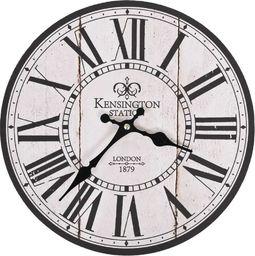 vidaXL zegar ścienny vintage London do kuchni, 30 cm (50626)