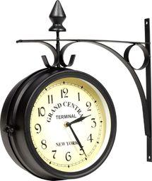 vidaXL dwustronny zegar ścienny, 20 cm (30010)