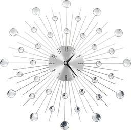 vidaXL zegar ścienny z mechanizmem kwarcowym, nowoczesny design, 50 cm (50642)