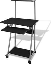 Biurko vidaXL komputerowe z ruchomą półką na klawiaturę