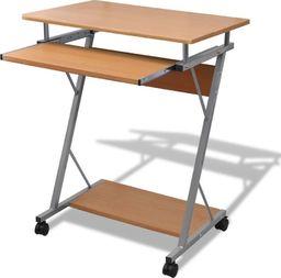 Biurko vidaXL z ruchomą podstawką na klawiaturę