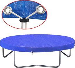 vidaXL Plandeka na trampolinę, PE, 360-367 cm, 90 g/m, 90588 (275065) - 275065