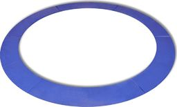 vidaXL Osłona sprężyn do okrągłych trampolin 14 st/4,26 m, PE niebieska