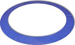 vidaXL Osłona sprężyn PE do okrągłych trampolin 12 ft/3,66 m, niebieska