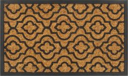 vidaXL Wycieraczka z włókna kokosowego i gumy, 45 x 75 cm