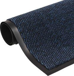 vidaXL Prostokątna wycieraczka przed drzwi 40 x 60 cm, niebieska
