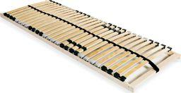 vidaXL Stelaż do łóżka z 28 listwami, drewno FSC, 7 stref, 80 x 200 cm