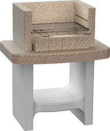 vidaXL Betonowy grill na węgiel drzewny, z półką