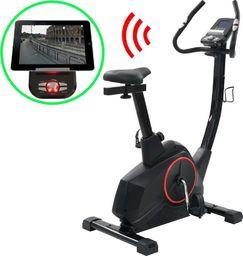 vidaXL Programowalny rower do ćwiczeń z pomiarem tętna