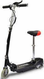 vidaXL Hulajnoga elektryczna z siodełkiem, 120 W, czarna