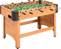 vidaXL Stół do gry w piłkarzyki, 118 x 95 x 79 cm, klon