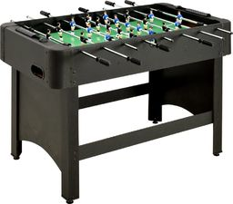 vidaXL Stół do gry w piłkarzyki, 118 x 95 x 79 cm, czarny