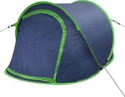 Namiot turystyczny vidaXL 2 osobowy zielony (90671)