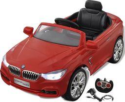vidaXL BMW - samochód zabawka dla dzieci na baterie z pilotem czerwony
