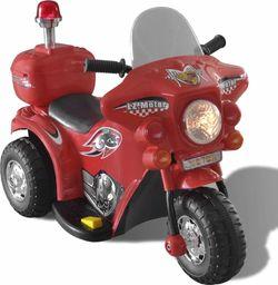 vidaXL Motocykl zasilany na baterię (czerwony)