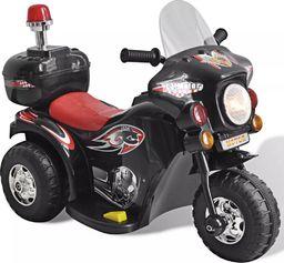 vidaXL Motocykl zasilany na baterie (czarny)