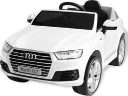 vidaXL Elektryczny samochód dla dzieci, białe Audi Q7, 6 V