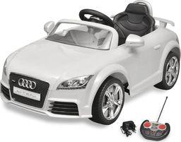 vidaXL Audi TT RS Samochód dla dzieci z pilotem Biały