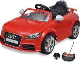 vidaXL Audi TT RS Samochód dla dzieci z pilotem Czerwony