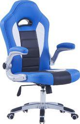 Fotel vidaXL niebieski (20191)