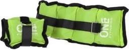 One Fitness Obciążniki WW01 Green 2x 0.7kg