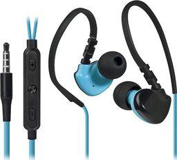 Słuchawki Defender Defender OutFit W770, słuchawki z mikrofonem, regulacja głośności, czarno-niebieski, 2.0, douszne, 3.5 mm jack sport