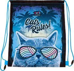 Starpak WOREK SZKOLNY NA RAMIĘ CAT RULES STARPAK 446615