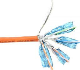 Przewód InLine InLine Solidny kabel instalacyjny 250MHz S / STP Kat.6 CU AWG23 bezhalogenowy 50m